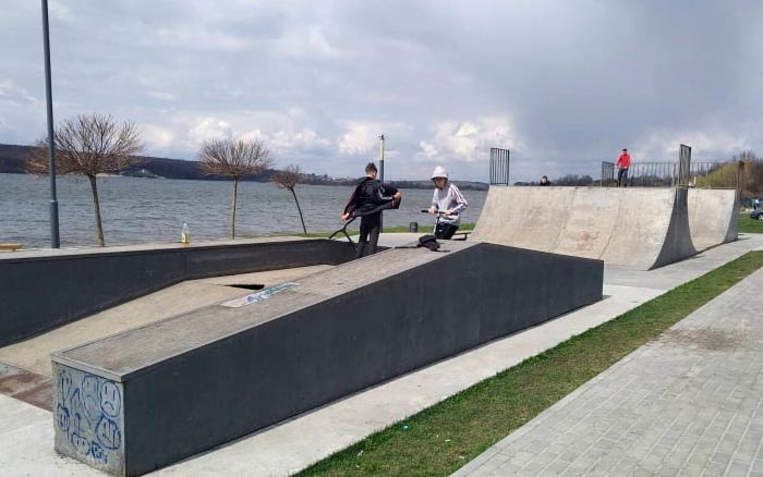 В Тернополі облаштують сучасний бетонований скейт-парк