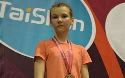 Вероніка Кондратенко - срібна призерка чемпіонату України з вільної боротьби