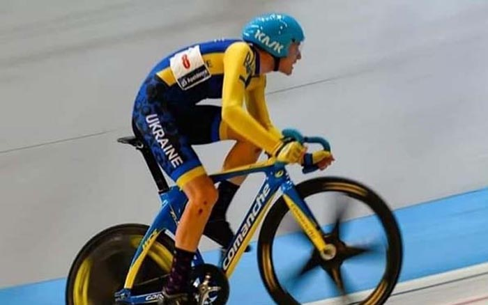 Тернопільський велосипедист Юрій Щербань взяв участь у чемпіонаті Світу на треку серед юніорів в Єгипті