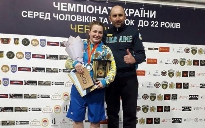 Боксерка з Тернопільщини здобула титул чемпіонки України та відправиться на чемпіонат Європи