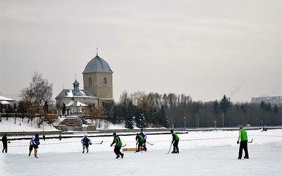 Окрім хокею, на тернополян на вихідних чекатимуть і спортивні зимові забави