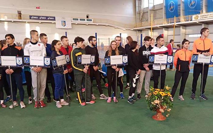Віктор Гнатів – бронзовий призер чемпіонату України з легкої атлетики в приміщенні серед юніорів