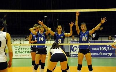 Тернопільські волейболістки посіли шосте місце