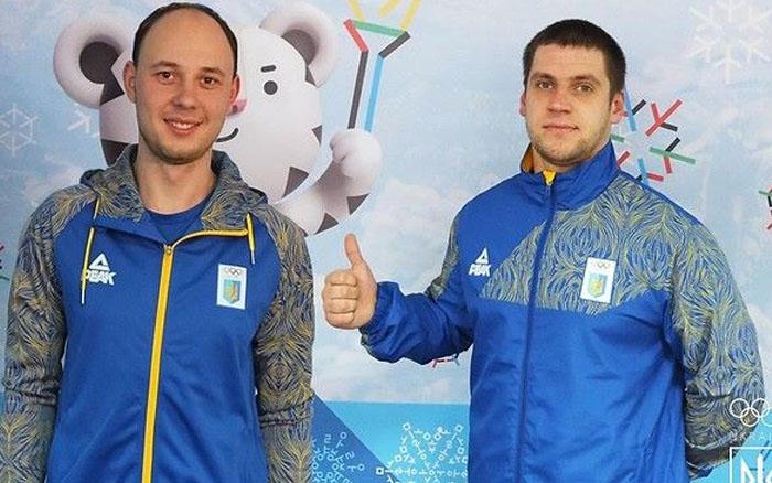 Олександр Оболончик провалив змаганнях двійок з санного спорту