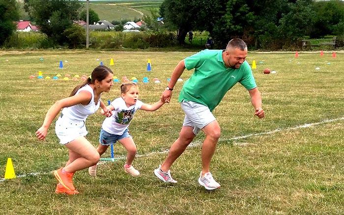 """Спортивні випробування для дорослих і дітей пройшли у Теребовлянській ОТГ в рамках Всеукраїнських заходів """"Олімпійське літо"""""""