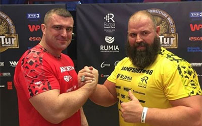 Андрій Пушкар захистив пояс абсолютного чемпіона світу з армспорту