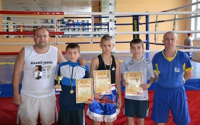Тернопільські боксери привезли три золоті медалі з Рівненщини