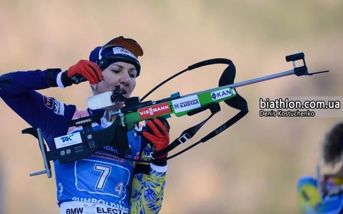 Олена Підгрушна фінішувала 53-ю у спринті на п'ятому етапі Кубка світу