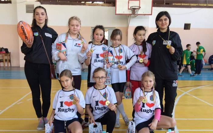 У виїзних змаганнях з регбі у Львові, перемогли юні кременчани