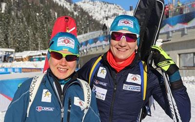 Олена Підгрушна фінішувала п'ятою у естафеті на Кубку світу