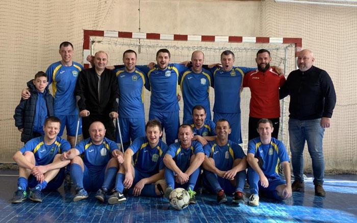 Команда муніципалітету – чемпіон другої футзальної ліги!