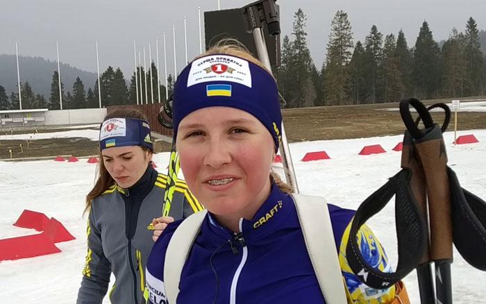 14-річна Олександра Меркушина виграла спринт дорослого чемпіонату України