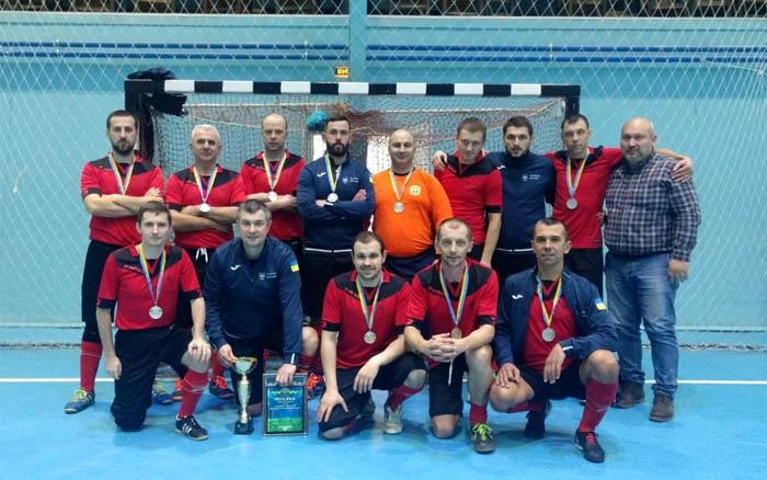 Команда Тернопільської міської ради - срібний призер турніру з футзалу серед працівників міських рад
