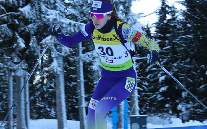 Марія Кручова зупинилась за крок до медалі на Кубку IBU