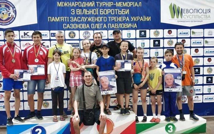 Борці вільного стилю отримали п'ять нагород під час Міжнародного меморіалу