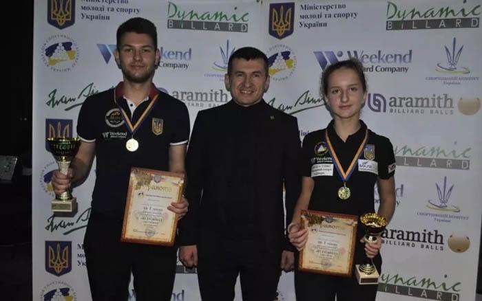 У Тернополі провели ювілейний Кубок України з більярду