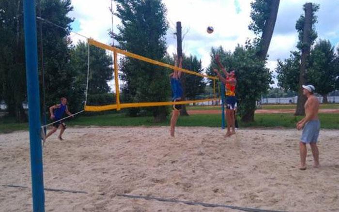 У Тернополі вперше проводять повноцінний чемпіонат з пляжного волейболу