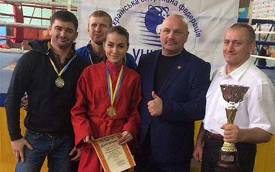 На Кубку України з універсального бою тернополяни здобули дві нагороди