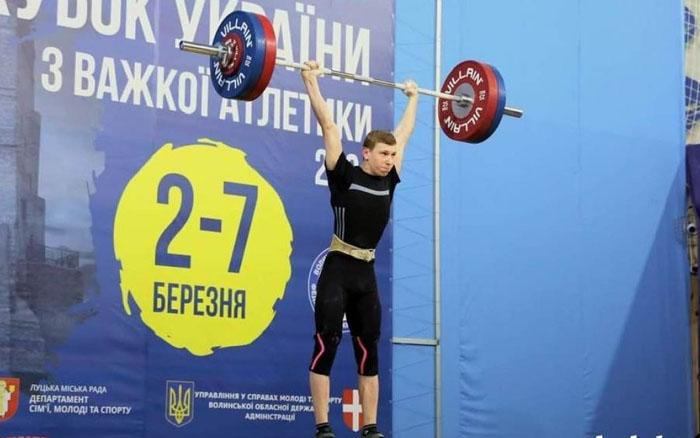16-річний спортсмен з Тернопільщини завоював срібло на Кубку України з важкої атлетики