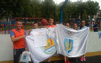 У Тернополі відбувся фінал міських змагань з стрітболу