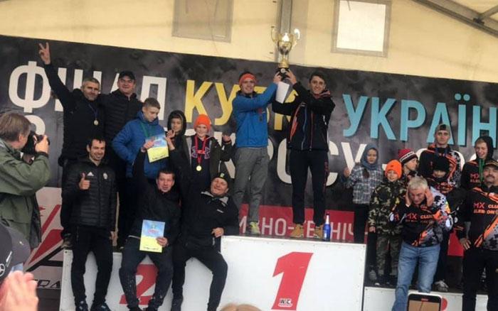 Команда з Тернопільщини здобула 2-ге місце у фіналі Кубку України з мотокросу