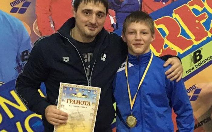 Володимир Войтович став чемпіоном України з греко-римської боротьби