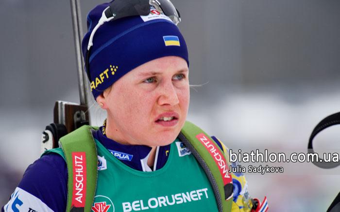 Меркушина та Підгрушна провели спринтерську гонку в норвезькому Шушені