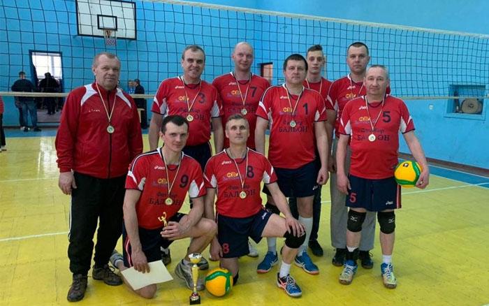 Волейболісти з Бережан виграли чемпіонат Тернопільського району