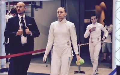 Олена Кривицька — переможниця етапу Кубка світу з фехтування