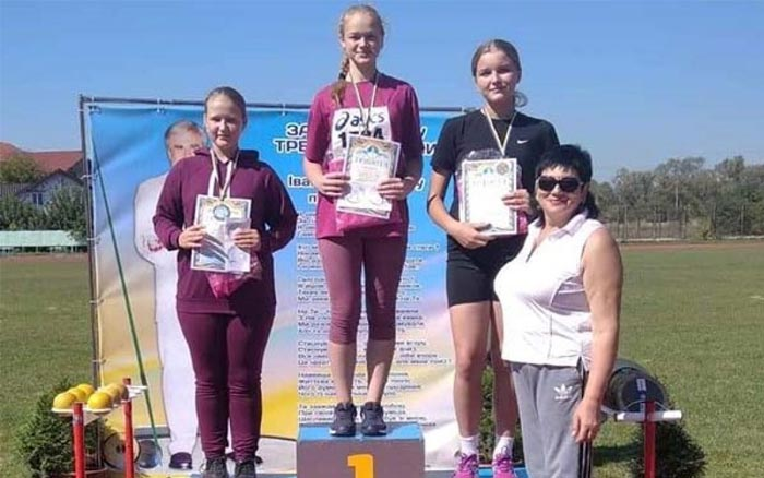 12 медалей вибороли спортсмени з Тернопільщини на Всеукраїнських змаганнях з легкоатлетичних метань