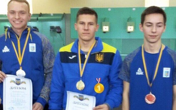 Студент ТНЕУ – переможець Чемпіонату України у приміщенні з кульової стрільби