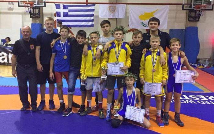 Тернопільські борці повернулися з міста Зевса чемпіонами та призерами