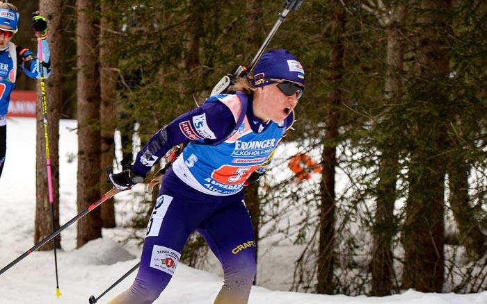 Анастасія Меркушина здобуває першу медаль на чемпіонаті Європи у Раубічах