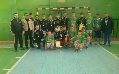 Тернополяни виграли обласну першість з футзалу серед юнаків (ФОТО)