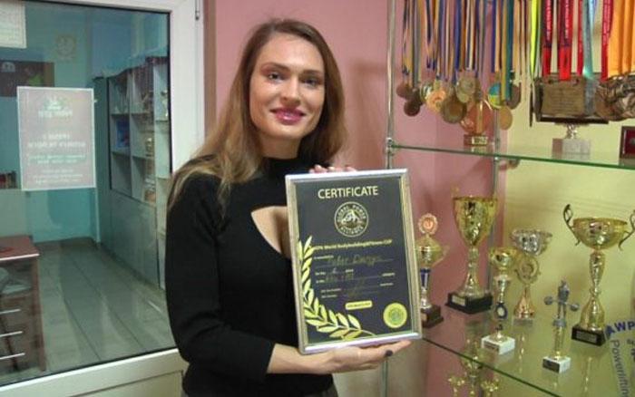 Тернополянка стала чемпіонкою світу з Фітнес бікіні