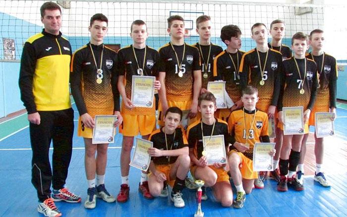 Кращими у волейболі виявились юнаки із Тернополя
