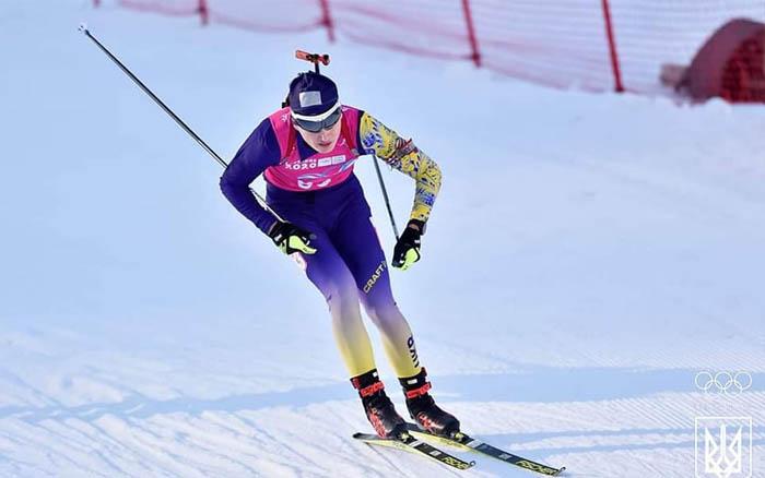Віталій Мандзин витягну збірну України на 7-е місце в естафетній гонці на юніорському Чемпіонаті світу у Ленцерхайде