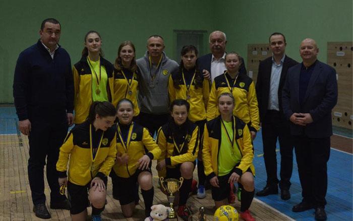 Тернопільські дівчата перемогли на турнірі в Новояворівську!