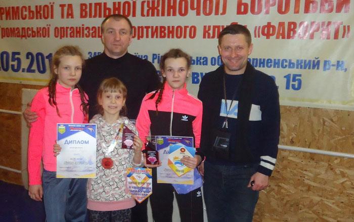 Дві тернопільські борчині – кращі на Міжнародних змаганнях на Рівненщині