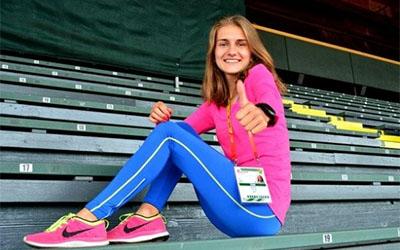 Тернопільська легкоатлетка встановила новий рекорд України