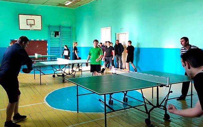 В Гусятині відбулась першість Гусятинського району з настільного тенісу