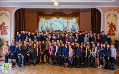 Тернопільські школярі зустрілися з учасником Олімпійських ігор