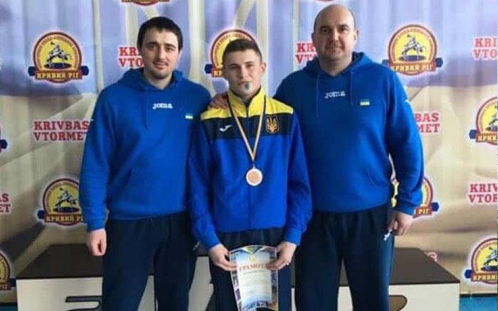 Тернопільський борець Олег Дикий привіз для збірної області чергову першість