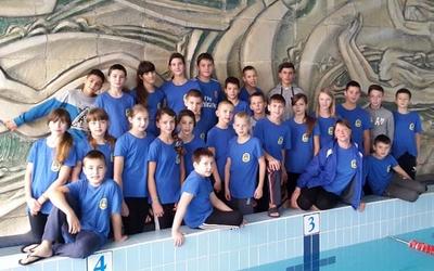 Юні плавці з Тернополя вибороли у Трускавці вісім золотих та п'ять срібних медалей