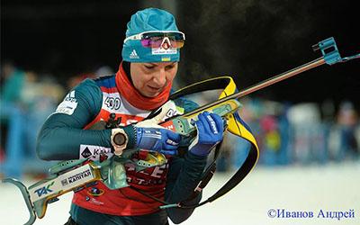 Олена Підгрушна провалила індивідуальну гонку на Кубку світу