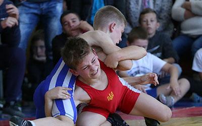 Юні борці з шести країн змагалися у Збаражі
