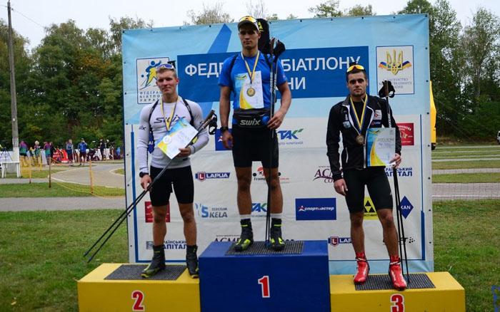 Тернопільські біатлоністи вдало провели гонку масового старту на чемпіонаті України