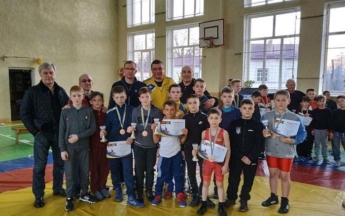 У команді борців греко-римського стилю з Тернополя - п'ять бронзових призерів