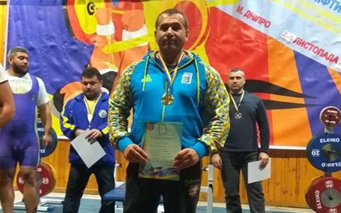 Тернополянин Каськів Едуард зйняв перше місце кубоку України з пауерліфтингу