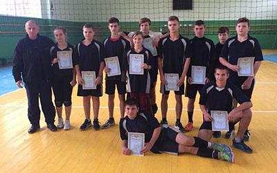На Теребовлянщині відбулись змагання з волейболу серед юнаків